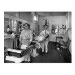 Barber Shop Postcards