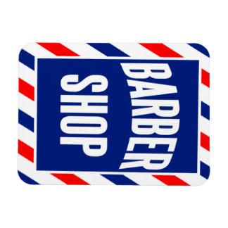 Barber Shop Rectangular Photo Magnet