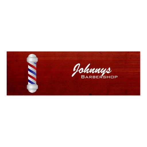 Barber Business Cards : Barber Shop Skinny Business Cards Zazzle