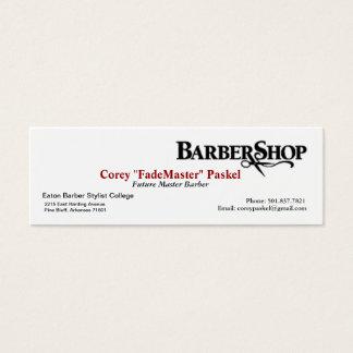 Barber 'Skinny' Business Card