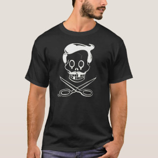 Barber Skull and Crossbones T-Shirt