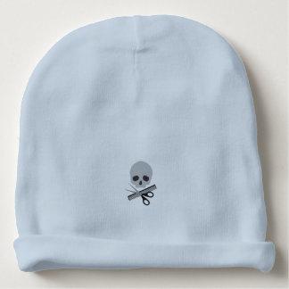 Barber skull baby beanie
