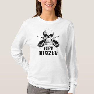 Barber Skull: Get Buzzed T-Shirt