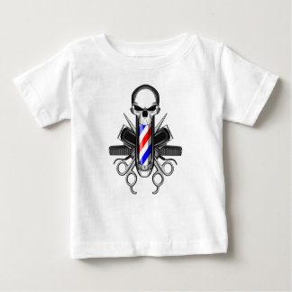 Barber Skull: Tools of the Trade Baby T-Shirt