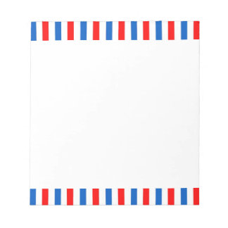 Barber Stripes Note Pads