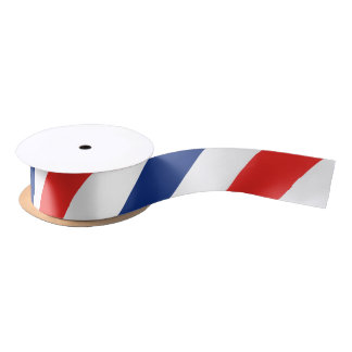 Barber Stripes Satin Ribbon