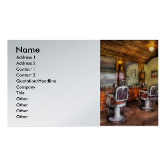 Barber - The Barber Shop Business Card Templates
