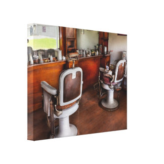 Barber - The Hair Stylist Canvas Print