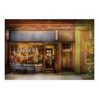 Barber - Towne Barber Shop Posters