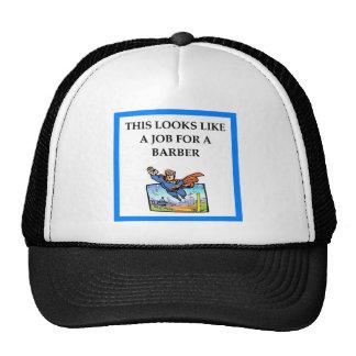 BARBER TRUCKER HAT