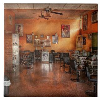 Barber - Union, NJ - The modern salon Large Square Tile