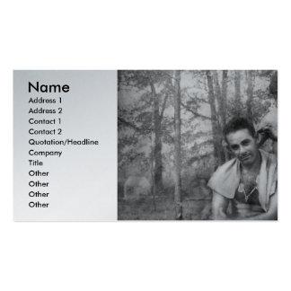 Barber - WWII - GI Haircut Business Card Templates