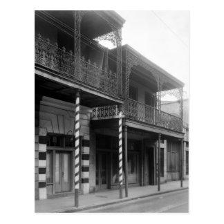 Barbería de New Orleans, los años 30 Tarjeta Postal