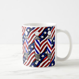 Barberpoles Classic White Coffee Mug