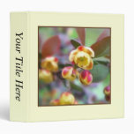 Barberry Flowers Binder