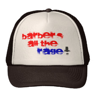 Barber's all the Rage! Mesh Hat