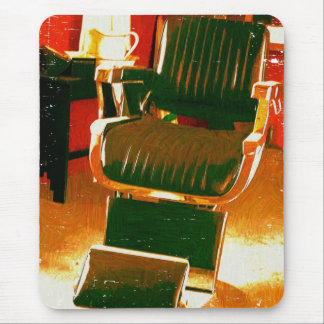 Barber's Chair Mouse Pad