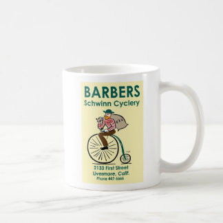 Barbers Cyclery Coffee Mug
