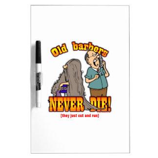 Barbers Dry-Erase Whiteboard