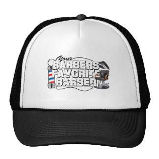 Barbers Favorite Barber Mesh Hats