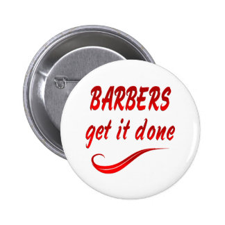 Barbers Get it Done Pins