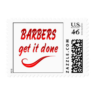 Barbers Get it Done Stamps