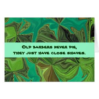 barbers humor card