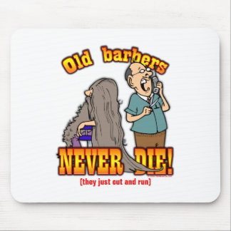 Barbers Mouse Pad