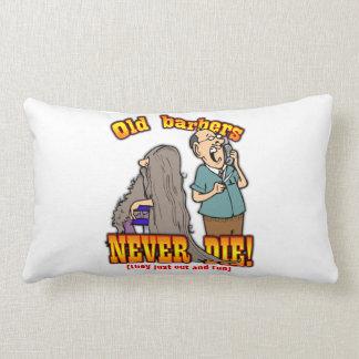 Barbers Throw Pillow