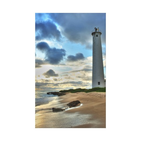 Barbers Point Lighthouse Canvas Print