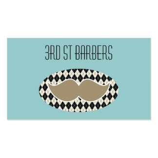 Barbers Shop business card, 2 sided