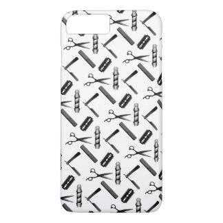 Barber's Shop Pattern iPhone 8 Plus/7 Plus Case