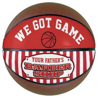 Barbershop Ball Basketball