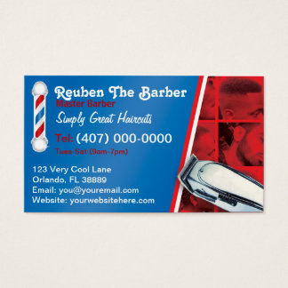 Barber Business Cards, 600+ Barber Business Card Templates