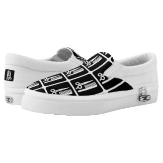 Barbershop / Beauty Salon Slip-On Sneakers