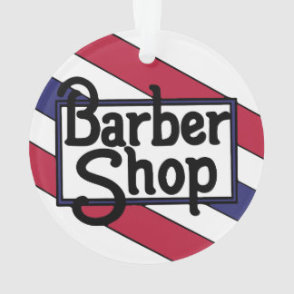 Barbershop Bold Ornament