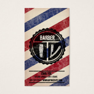 Barber shop business cards templates zazzle barbershop business card colourmoves Gallery