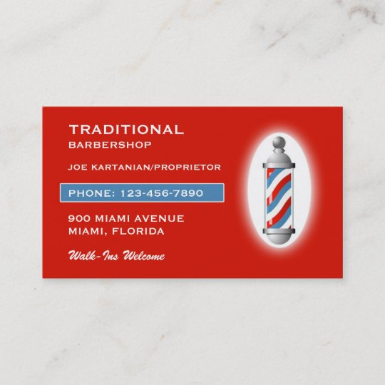 Barbershop business card zazzle barbershop business card colourmoves