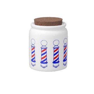 Barbershop Candy Jar