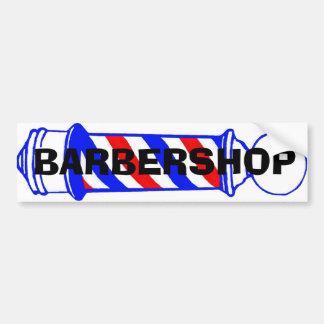 Barbershop Car Bumper Sticker