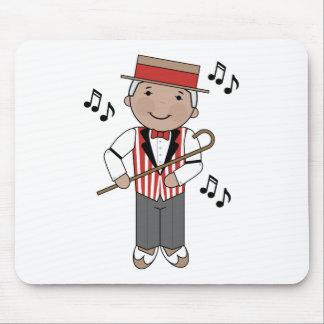 Barbershop Music Singer Gift Mouse Pad