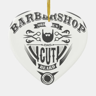 Barbershop originals vintage ceramic ornament