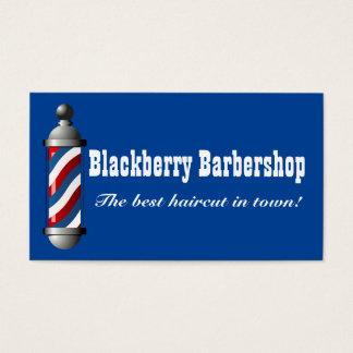 Barbershop Pole Business Card