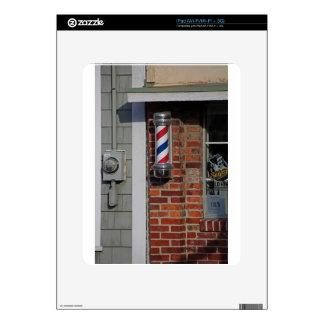 Barbershop Pole Vector Skins For iPad