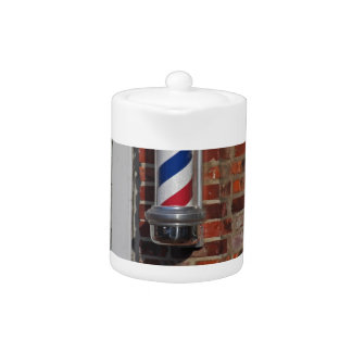 Barbershop Pole Vector Teapot