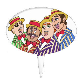 Barbershop Cake Toppers | Zazzle