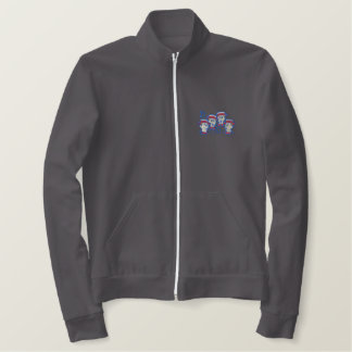 Barbershop Quartet Embroidered Jacket