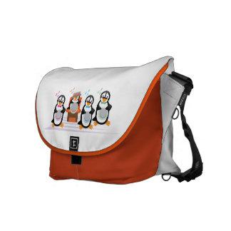Barbershop Quartet Messenger Bag