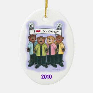 Barbershop Quartet Ornament