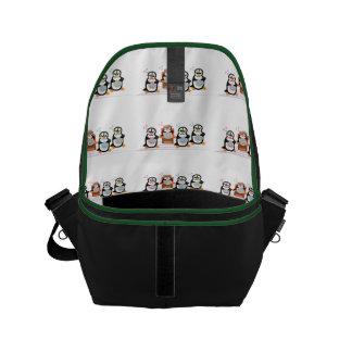 Barbershop Quartet Small Messenger Bag